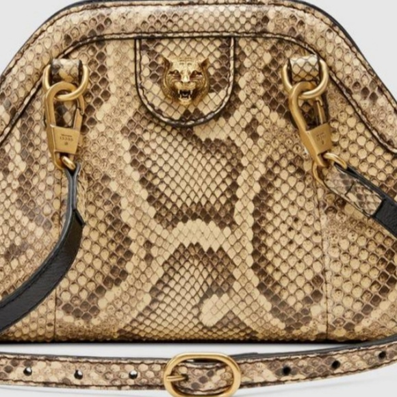 1438da2dcc6f Gucci Bags | Brand New Authentic Snakeskin Bag | Poshmark